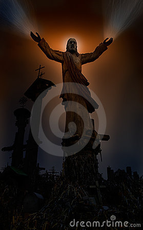 Jesus-heilende Hände
