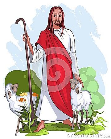 Free Jesus Is A Good Shepherd Stock Photos - 18567683