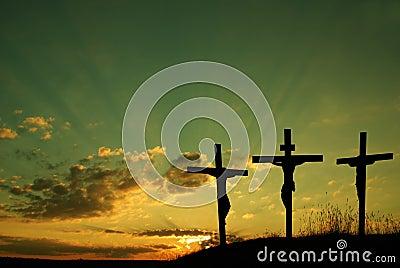 Jesus kruisigt