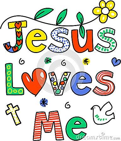 Free Jesus Loves Me Royalty Free Stock Image - 9759606