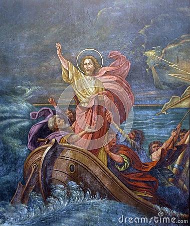 Free Jesus` Miracle Royalty Free Stock Photos - 90500188