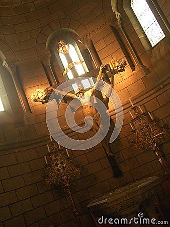 Free Jesus On Cross Royalty Free Stock Photo - 3392115