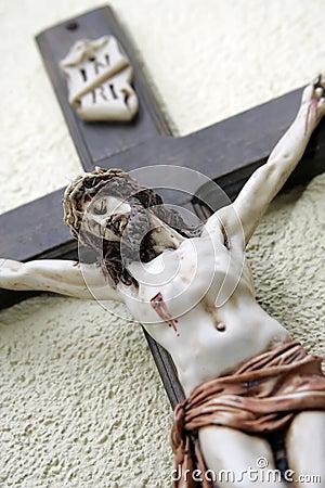 Free Jesus On Cross Royalty Free Stock Photos - 4085548