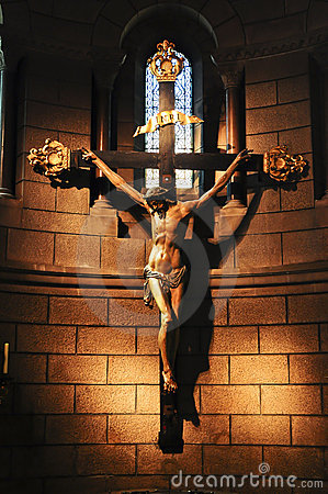 Free Jesus On The Cross Stock Photography - 15806362
