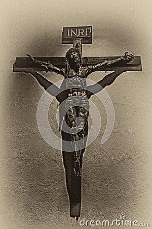 Free Jesus On The Cross Stock Photography - 66162742