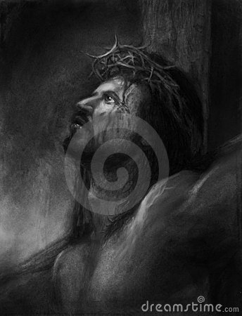 Jesus onthe cross