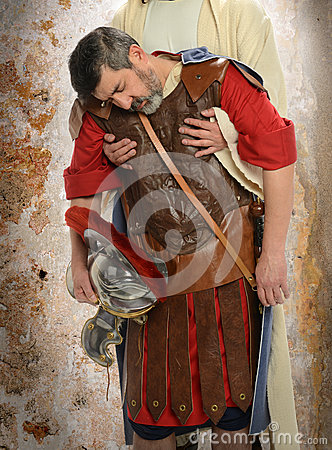 Jesus and Roman Centurion
