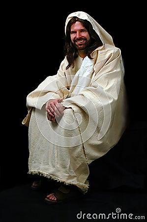 Jesus Sitting Stock Photos Image 1876003