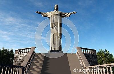 Jesus Statue in Rio De Janeiro Brazil Corcovado