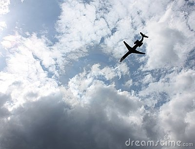 Jet Airplane  Royalty Free Stock Image - Image: 14123166