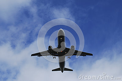 Jet basso di volo