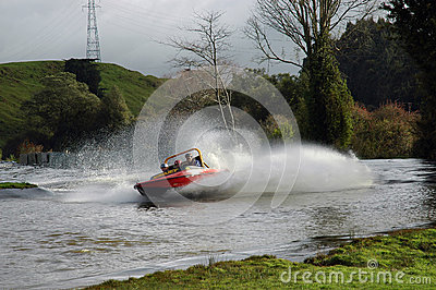 Jet Boat. Editorial Stock Image