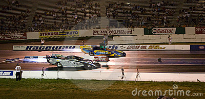 Jet cars racing Editorial Image