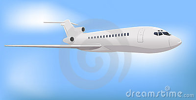 Jet comercial privado