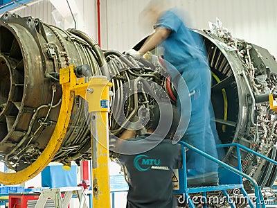 Jet engine Editorial Photo