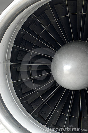 Free Jet Engine Close Up Royalty Free Stock Photo - 1156885