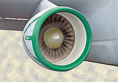 Jet Engine Running