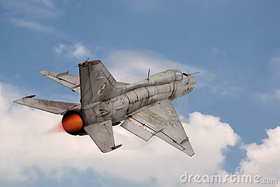 Jet Fighter MIG-21