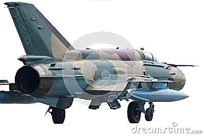 Jet fighter Mig 21