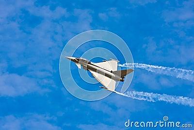 Jet Fighter on sky