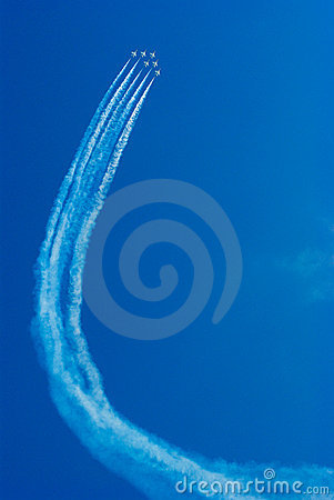 Free Jet Fighters In Formation Stock Photography - 2434372