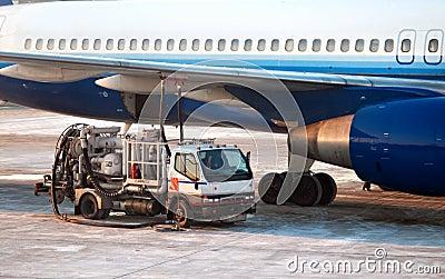 Jet fueling up