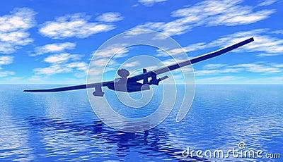 Jet glider amphibian