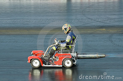 Jet mobility scooter Editorial Stock Photo