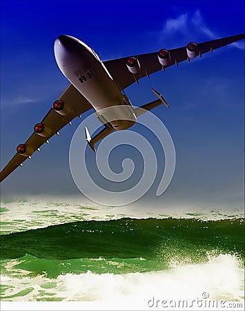 The jet plane