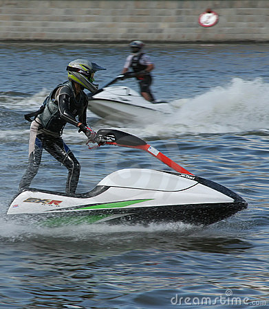 Jet ski competition
