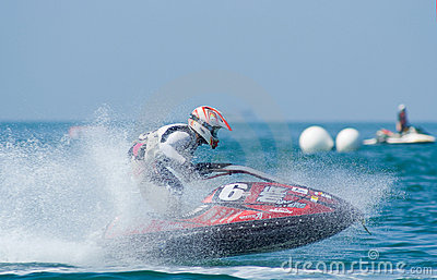 Jet Ski King s Cup World Cup 2009 at Pattaya Editorial Stock Image