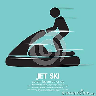 Free Jet Ski Sport Sign Royalty Free Stock Photos - 41430678