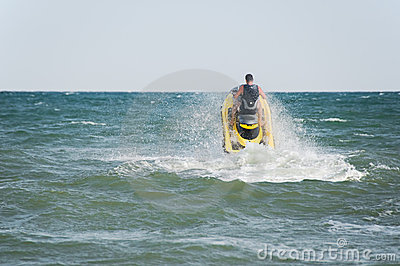 Jet Skiing Stock Photos - Image: 13146203