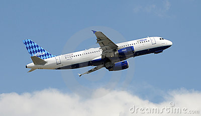 Jetblue Airbus A-320 Editorial Stock Image