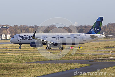 JetBlue Airbus A321 Editorial Image