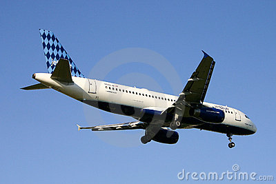 JetBlue Airwyas Airbus A320 Fotografia Editoriale