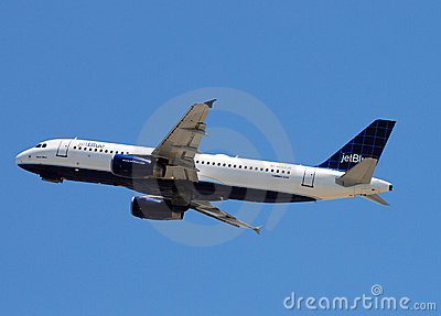 Jetblue passenger jet Editorial Photo