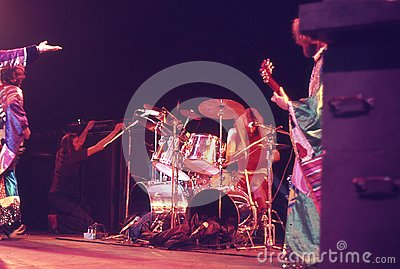 1974. Jethro Tull 08. Denmark, Copenhagen. Editorial Stock Photo