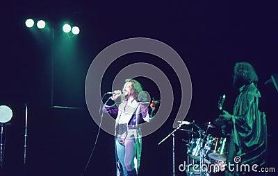 1974. Jethro Tull 01. Denmark, Copenhagen. Editorial Photography