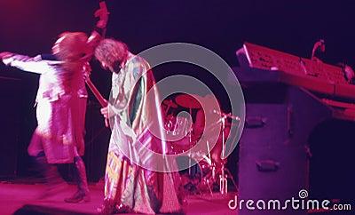1974. Jethro Tull 04. Denmark, Copenhagen. Editorial Image
