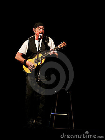 Jethro Tull live concert Editorial Stock Photo