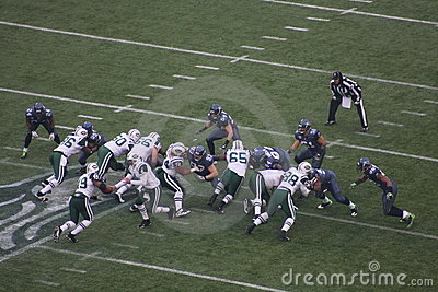 Jets vs. hawks Editorial Photography