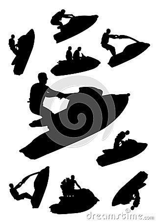 Free Jetski Set Stock Photos - 9348153