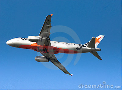 Jetstar Airbus A320 Editorial Photography