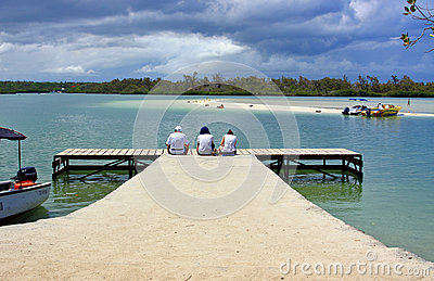 Jetty Editorial Stock Photo