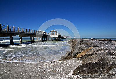 Jetty and fishing pier