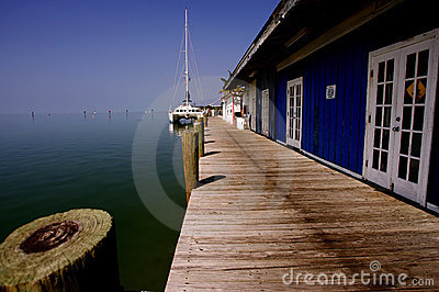 Jetty Key West Royalty Free Stock Photos - Image: 6802788