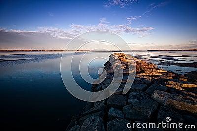 Jetty Ottawa rzeki kamień
