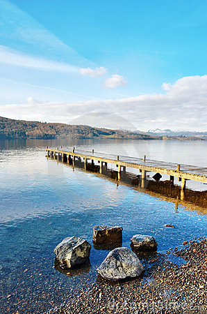 Jetty Over Lake, Windermere