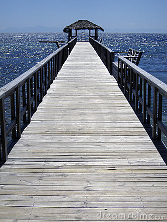 Jetty or pier